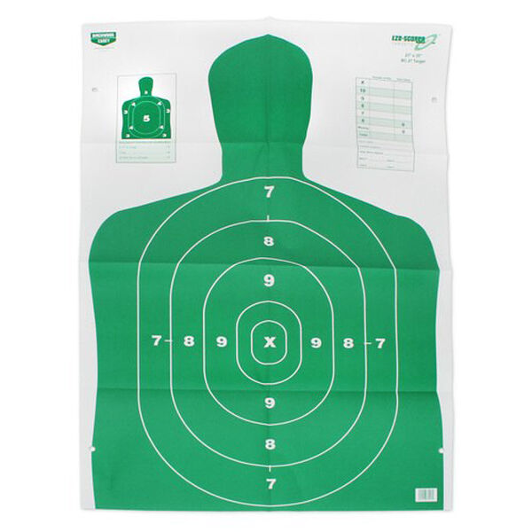 Birchwood Casey Green Silhouette Target, 5pk