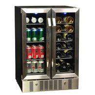 18 Bottle 60 Can Dual Zone Built-in Compressor Wine & Beverage Cooler