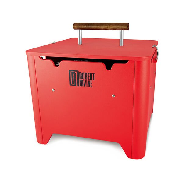 Robert Irvine Portable Charcoal Grill