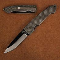 Ceramic Folding Knife with Carbon Fiber Handle