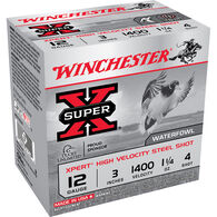"Winchester Xpert High Velocity Shotgun Steel Shot, 12-ga., 3"", 1-1/4 oz., #4"
