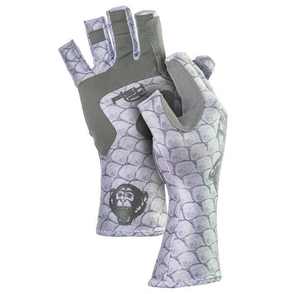 Fish Monkey Half-Finger Guide Glove, Tarpon