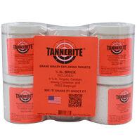 Tannerite Exploding Rifle Target Kit, Half Brick, Four 1/2-lb. Targets
