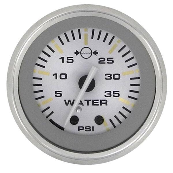 """Sierra Gold Sterling 2"""" Water Pressure Gauge"""