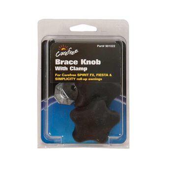 Awning Brace Knob with Clamp