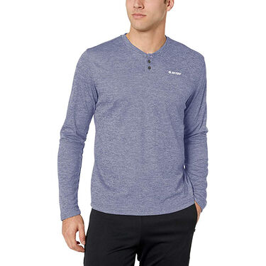 Hi-Tec Men's Sequoia Long-Sleeve Thermal Henley