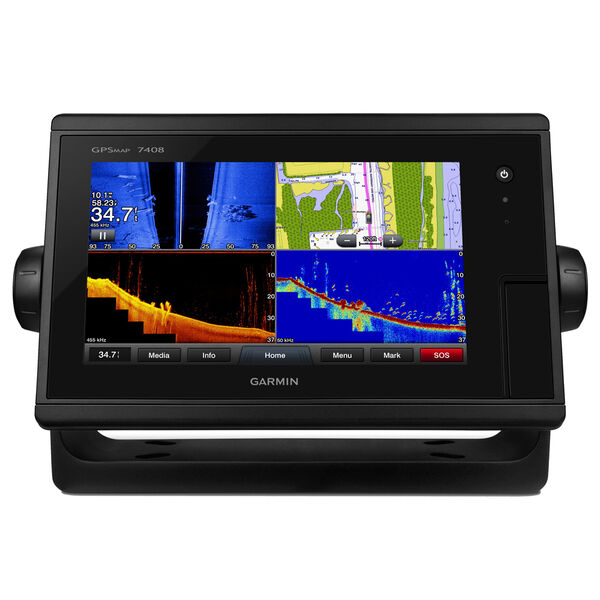 "Garmin GPSMAP 7408 8"" Touchscreen Chartplotter With J1939 Port"