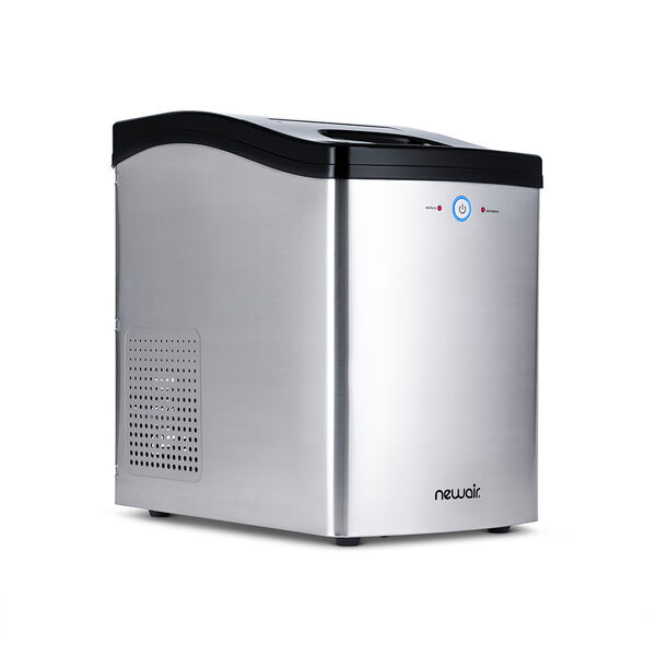 NewAir Countertop Nugget Ice Maker, Stainless Steel, 40 lbs. per Day