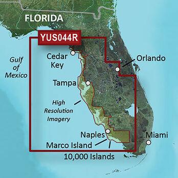Garmin BlueChart g2 HD Cartography, Florida Gulf Coast