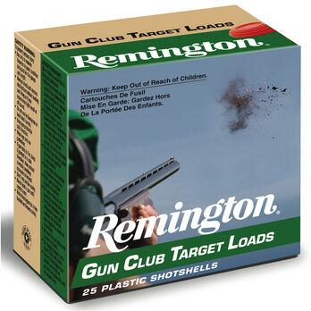 "Remington Gun Club Target Loads, 12-ga., 2-3/4"", 1-1/8 oz., #8"