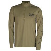 NWTF Men's Long-Sleeve Quarter-Zip Top