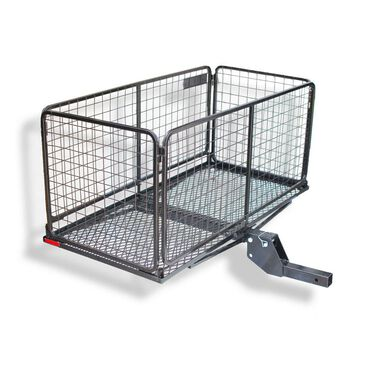 Cargo Carrier Basket with 4 inch Raised Folding Shank