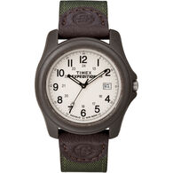 Timex Expedition Unisex Camper Watch, Brown/Olive Green