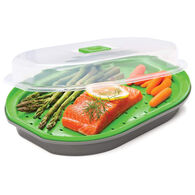 Prep Solutions Microwave Fish/Veggie Steamer