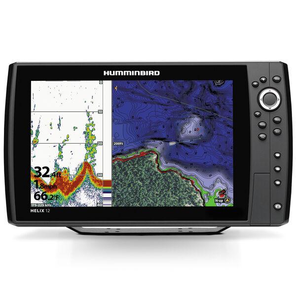 Humminbird Helix 12 Mega SI GPS G2N CHIRP Fishfinder Chartplotter