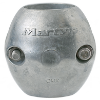 "Martyr Anodes Streamlined 1"" Shaft Anode, Aluminum"