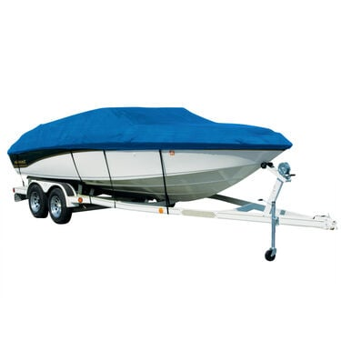 Exact Fit Sharkskin Boat Cover For Bayliner Deck Boat 249 W/Extended Platform