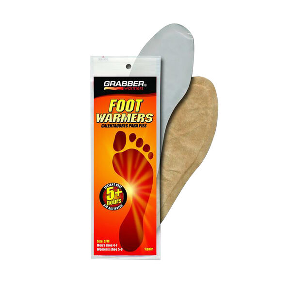 Grabber Air-Activated Foot Warmers – Size: S/M, Pair
