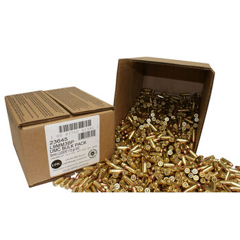 Remington UMC Handgun Ammo Bulk Box, 9MM Luger, 115-gr., MC, 1000 Rounds