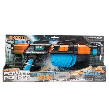 Double Barrel Atomic Power Popper