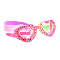 Youth Heart Glitter Goggles