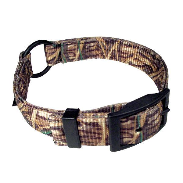 """Scott Pet Mossy Oak Shadow Grass Camo Center Ring Collar, 1"""" x 18"""""""