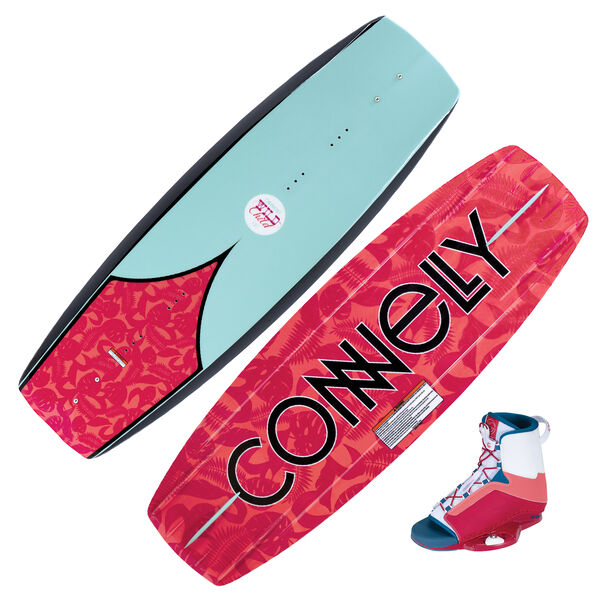 Connelly Wild Child Wakeboard With Karma Bindings