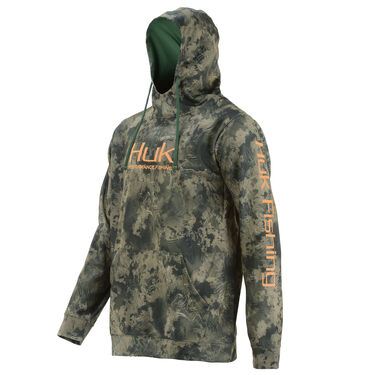 Huk Men's Performance Pullover Logo Hoodie