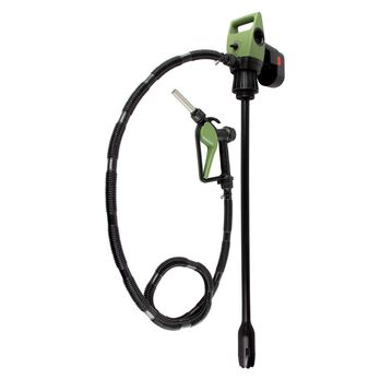 TeraPump TREDRUM-SB Drum Pump with Rechargeable Battery