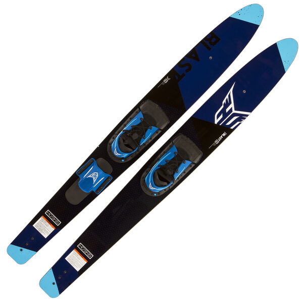 HO Blast Combo Waterskis With Adjustable Blaze Bindings, 59""