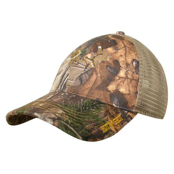 HOT SHOT Men's Adjustable Camo Mesh-Back Cap