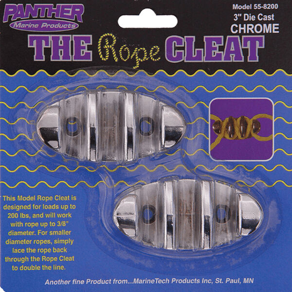 """Panther 3"""" Rope Cleats, 2-pack"""