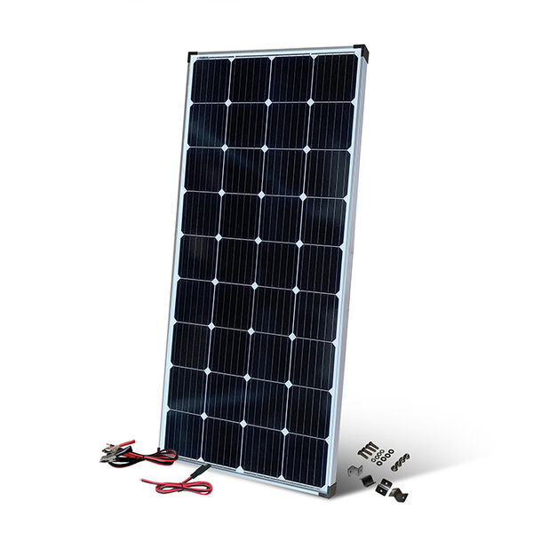 200 Watt Crystalline Solar Panel with Connecting Cables