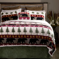Tall Pine 5-piece Sherpa King Bedding Set