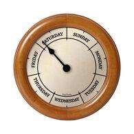 DayClocks™ Classic Series Wall Clock, Pine