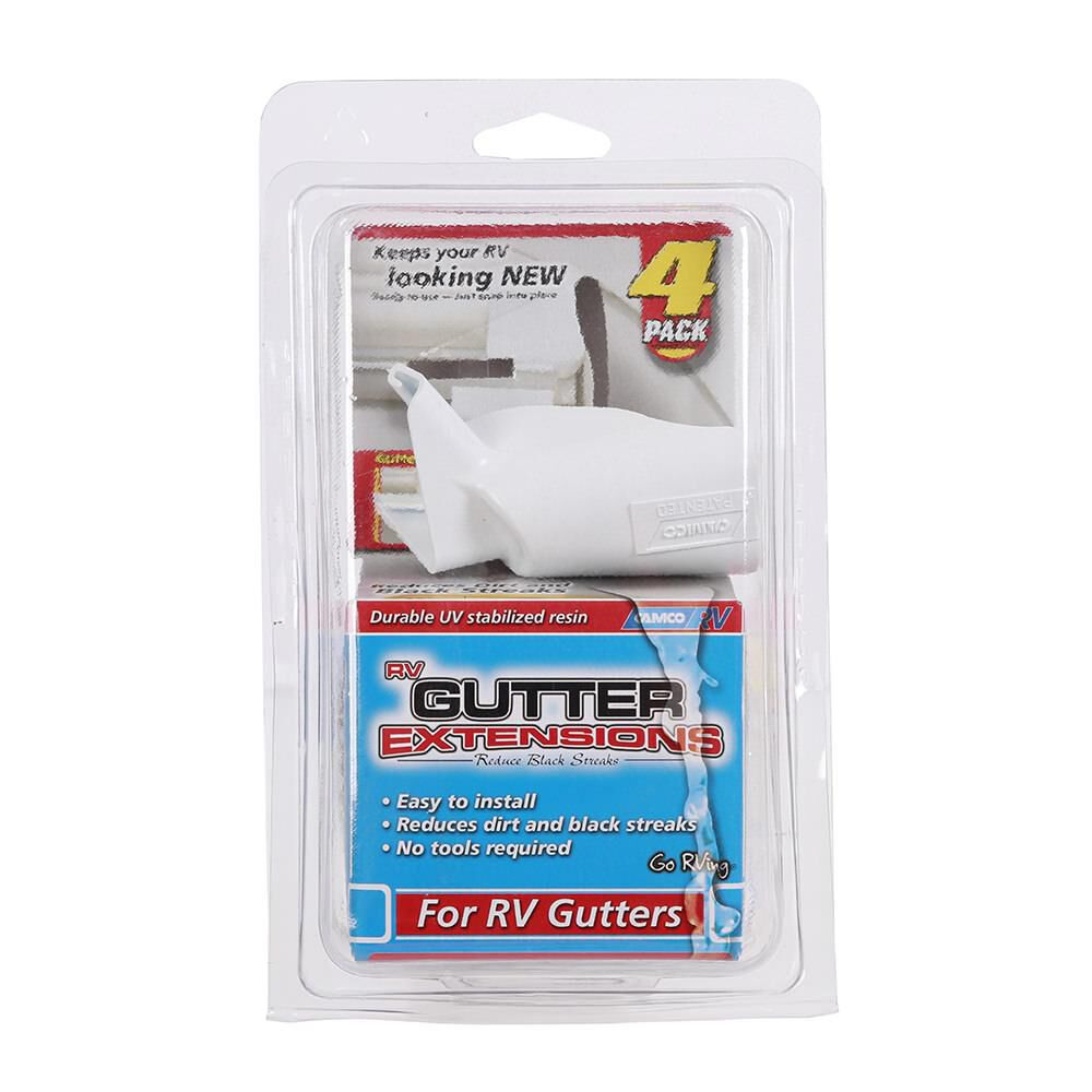 RV Gutter Extensions, 4-pack