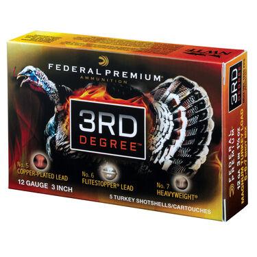 """Federal 3rd Degree Turkey Shotshells, 12-ga., 3"""", 2-oz."""