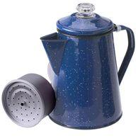 GSI Outdoors 8-Cup Enamelware Percolator, Blue