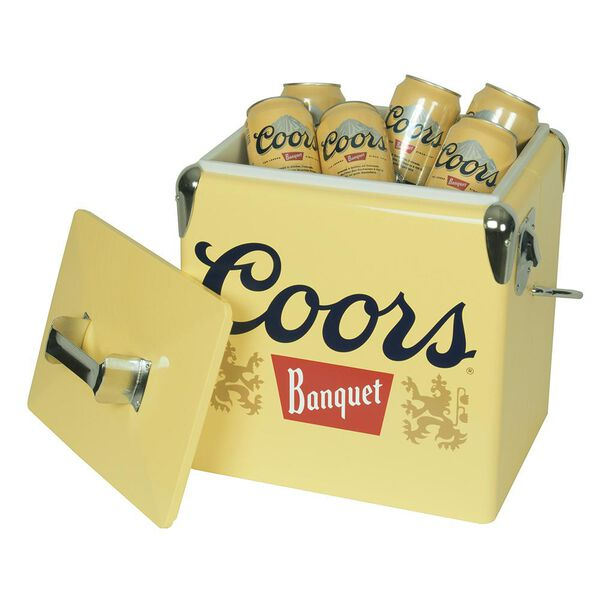 Coors Banquet 18 Can Ice Chest with Bottle Opener (14 Quarts/13 Liters)