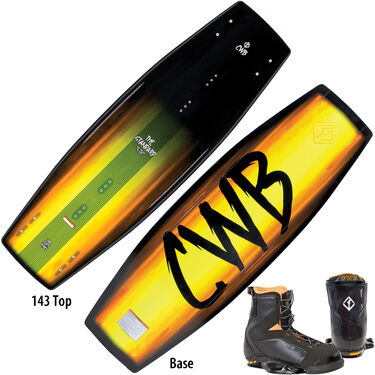 CWB The Standard Wakeboard With JT Bindings