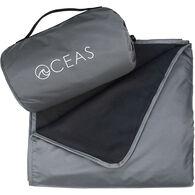 Oceas Waterproof Fleece Blanket, Gray