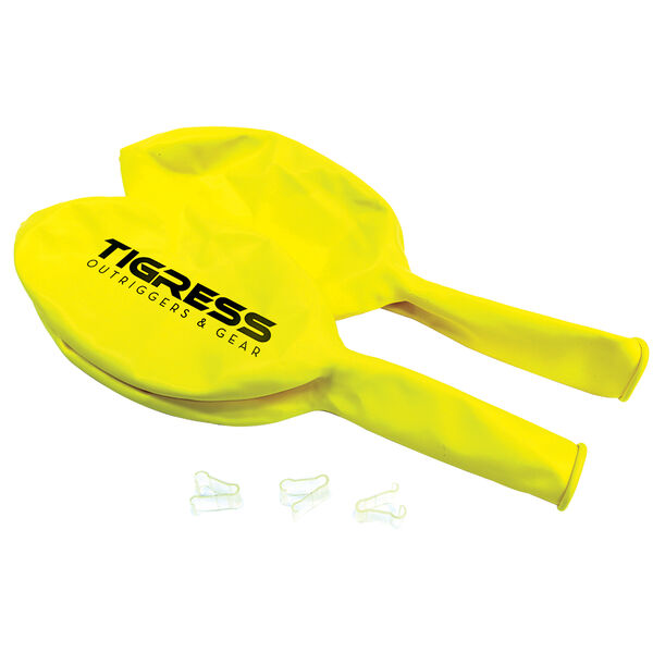 Tigress Helium Balloons, Yellow
