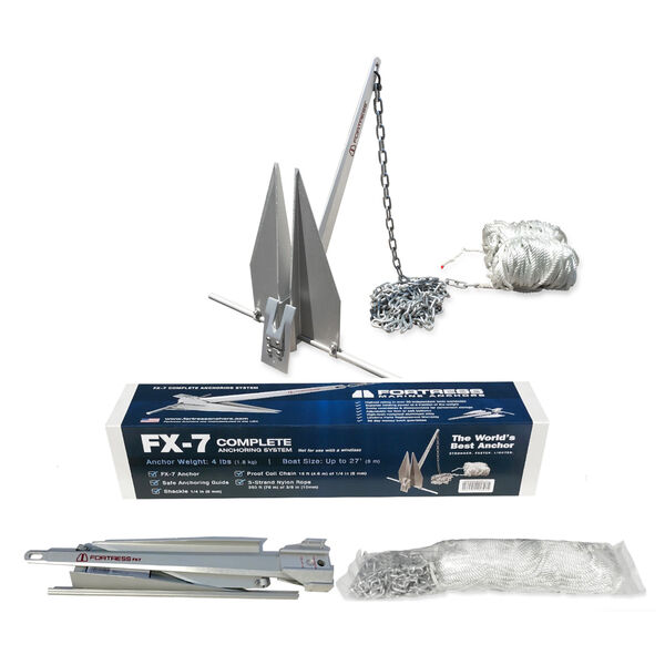 Fortress FX-7 Lightweight Aluminum Anchor Kit