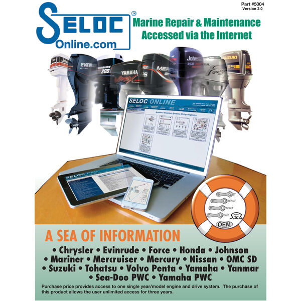 Seloc Online Engine Repair Manual With CD