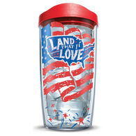"""Tervis 16-oz. Tumbler with Travel Lid, """"Land That I Love"""""""