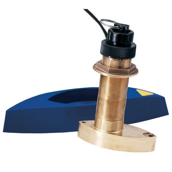 Garmin B744VL Long-Stem Bronze Thru-Hull Transducer