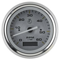 "Sierra Gold Sterling 3"" Tachometer, Sierra Part #67174P"