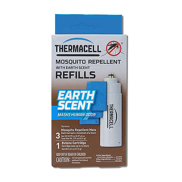 ThermaCELL Earth Scent Refill, 3 mats