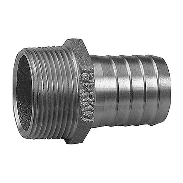 """Perko Straight Pipe To Hose Adapter, 2"""""""