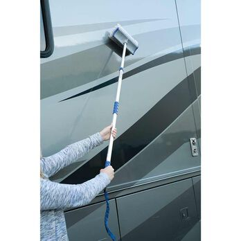 Adjust-a-Brush Quik Connect System, Flo-thru Brush with Pole